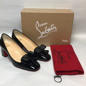 Christian Louboutin Carmela Pump 55 Patent Leather